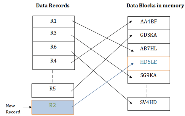DBMS Hash File Organization