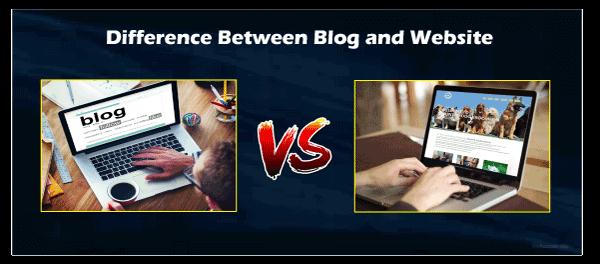 Blog vs. Website