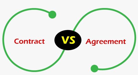 Contract vs Agreement