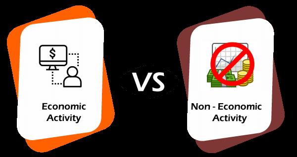 Economic vs Non-Economic Activities