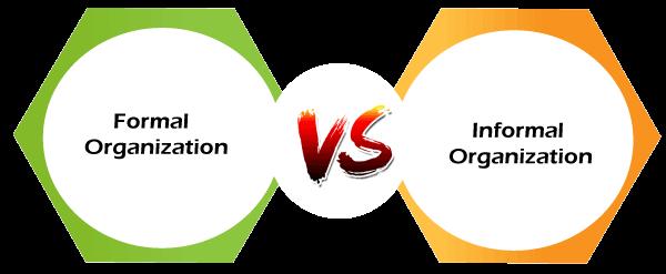 Formal vs Informal Organization