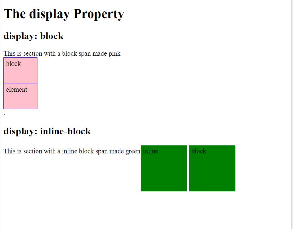 Inline-block vs. Block Elements