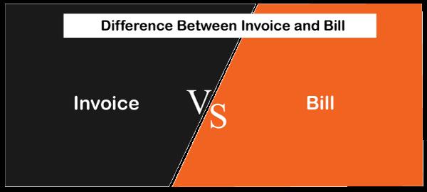 Invoice vs Bill
