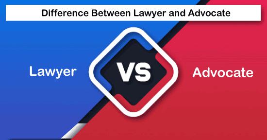 Lawyer vs Advocate
