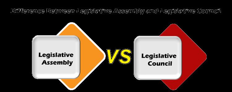 Legislative Assembly vs Legislative Council