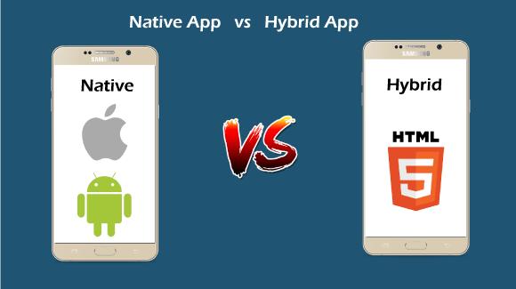 Native app vs Hybrid app
