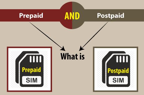 Prepaid vs Postpaid