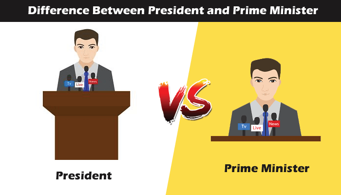 Difference between President and Prime Minister