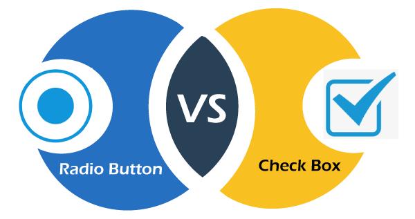 Radio Button Vs. Checkbox button