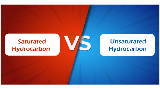 Saturated vs Unsaturated Hydrocarbon