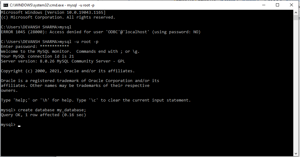 How to connect MySQL to Django