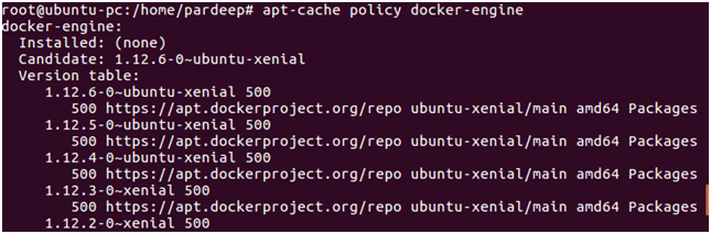 Docker Installation 7