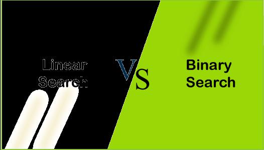Linear Search vs Binary Search