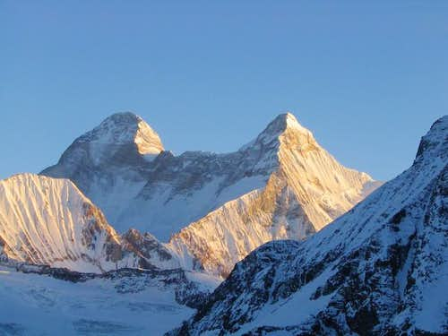 Highest Himalaya Mountain Peaks in India