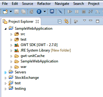 GWT Application 4