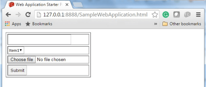 GWT Form Panel