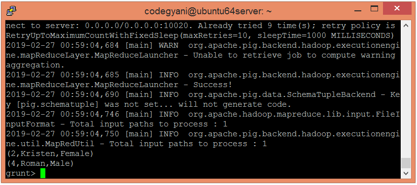 Apache Pig IN Function