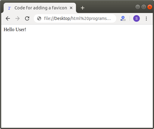 How to Add a Favicon in Html