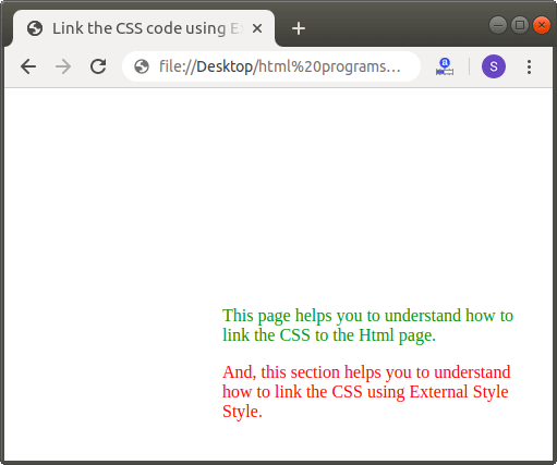 How to Link CSS to Html