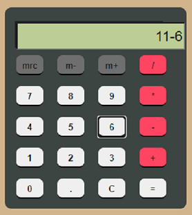 HTML Calculator