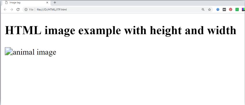 HTML Image