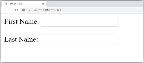 HTML TextField Control