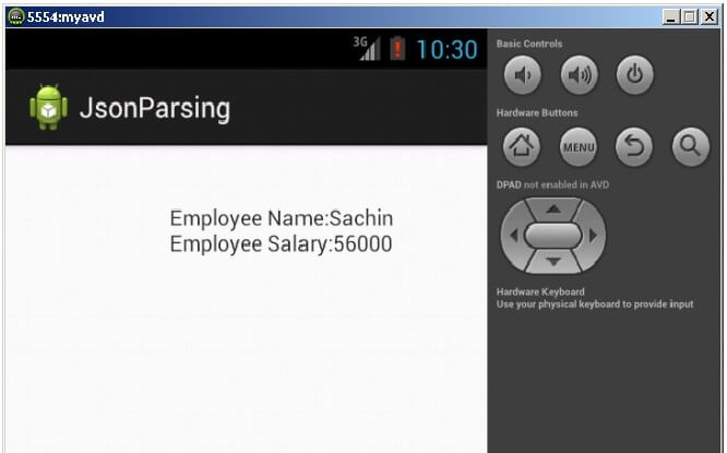 Android JSON Parsing Tutorial - javatpoint