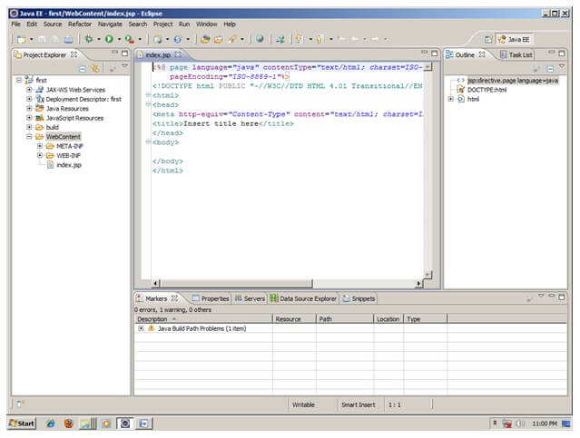 JSP Example in Eclipse - javatpoint