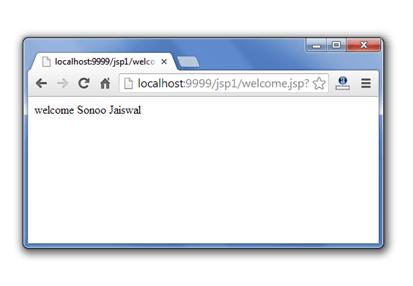 jsp request implicit object output 3