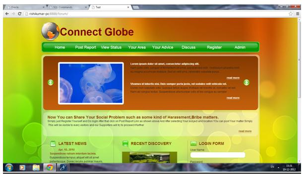 Connect Globe Project