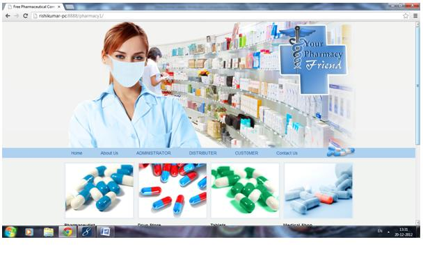 Pharmacy Project | JSP Projects - javatpoint