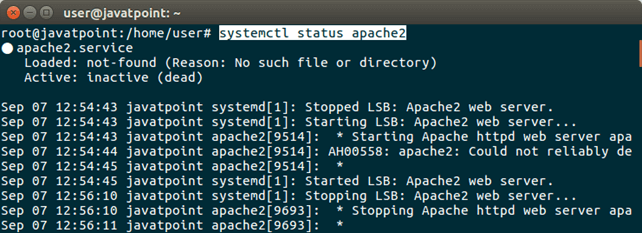 Software Apache 1
