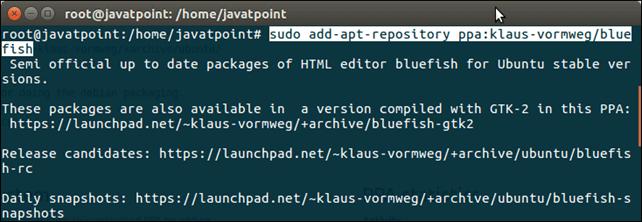 Software Bluefish 1