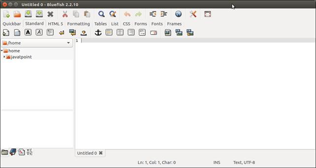 Software Bluefish 4