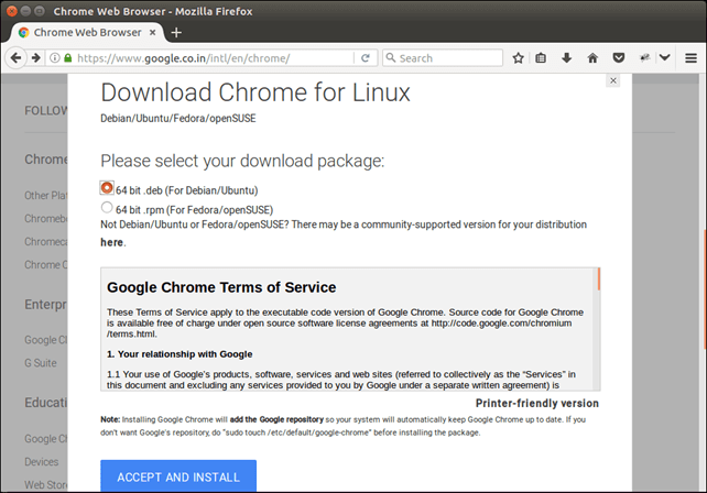 How to Install Chrome in Ubuntu - javaTpoint