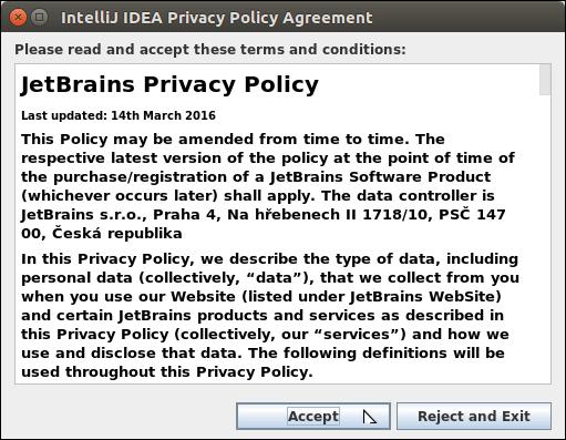 Software IntelliJ IDEA 5