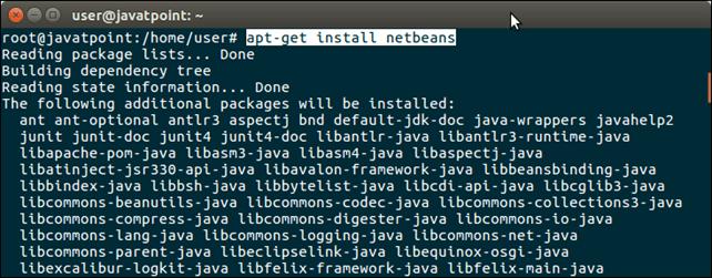 Software Netbeans 1