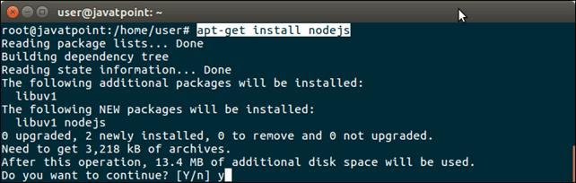 Software Nodejs 1