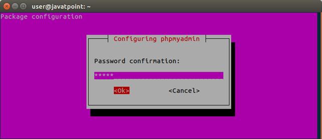 Software PhpMyAdmin 7