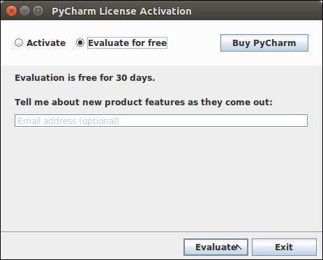 Software PyCharm 5