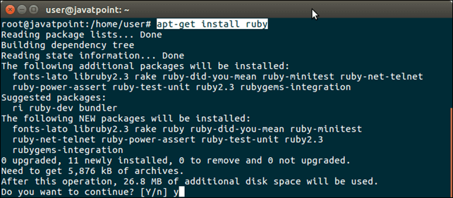 Software Ruby 1