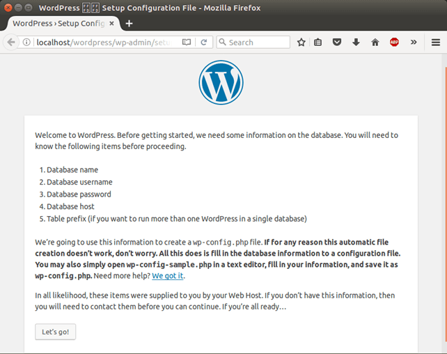 Software WordPress 4