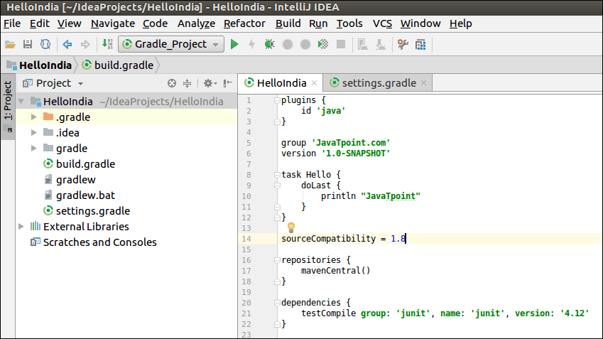 IntelliJ IDEA Build Tool