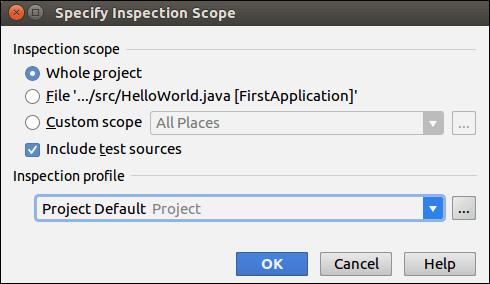 IntelliJ IDEA Code Inspection - javatpoint
