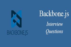 Backbone js Interview Questions - javatpoint