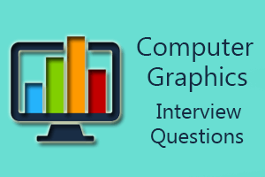 Computer Graphics Interview Questions