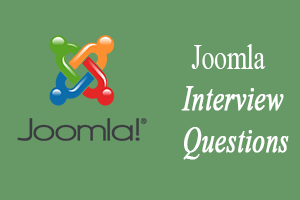 Joomla Interview Questions