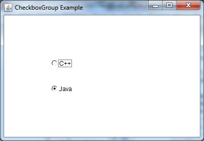 java awt checkboxgroup example 1