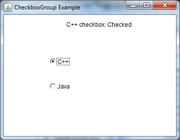 java awt checkboxgroup example 2