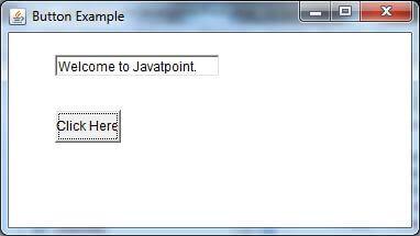 Java AWT Button